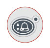 Rad-87 one-touch alarm button